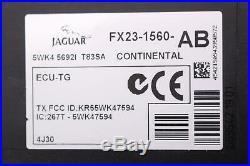10-15 Jaguar Xf X250 Tpms Tire Pressure Control Module Sensor Fx23-1560-ab Oem