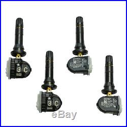 13516164 Tire Pressure Sensors Set of Four (4) TPMS 315 Mhz 2017-18 Yukon Tahoe