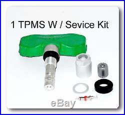 15268606 TPMS Tire Pressure Sensor with Service Kit Fit GM Saturn Suzuki