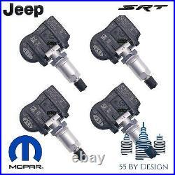 16-20 Jeep Grand Cherokee Srt Trackhawk Oem Tpms Tire Pressure Monitor Sensors