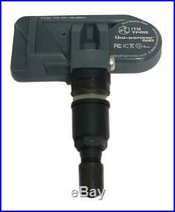 2011-2018 TPMS Tire Pressure Sensors BMW F10 F11 F07 G30 G31 Matte Black Stems