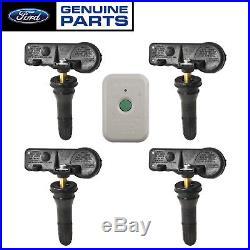 2015-2018 Genuine Ford Tire Pressure Valve Stem TPMS Sensors & Programming Tool