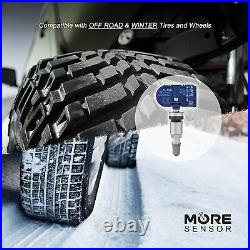 315 + 433 MHz Universal Blank TPMS Tire Pressure Sensor Programmable 5 Pack