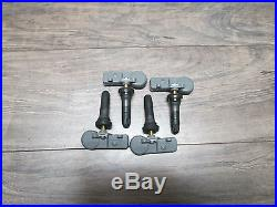 (4) 13586335 13581558 New Gm Chevy Tpms Tire Pressure Sensors New Never Prgramed