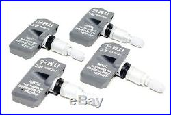 4 2008-2013 TPMS Tire Pressure Monitor Sensors G37