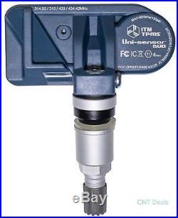 (4) 2009 Dodge Ram 1500 TPMS Tire Pressure Sensors Part 68406531AA Replacement
