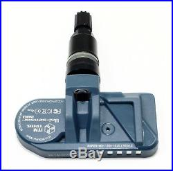 4 315mhz 433mhz TPMS Tire Pressure Sensors Chevrolet Gloss Black Valve Stems