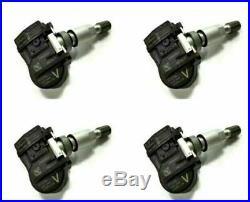 (4) 40700-3AN0A OEM TPMS Fits Nissan Tire Pressure Sensor Continental