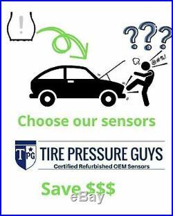 (4) DE8T-1A180-AA TPMS OEM Ford Lincoln Mercury Tire Pressure Sensor Complete
