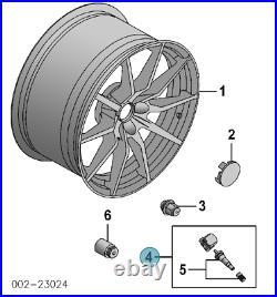 (4) GENUINE FORD TPMS Sensors F250 F350 F450 F550 MUSTANG SHELBY GT350R TPMS39