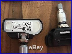 4 Mercedes Tire Pressure Sensors RDKS A0009050030 W212 W222 W218 W205 W176 W246