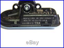 (4) New Mopar Oem 2016 Ram 1500 Tpms Tire Pressure Sensors 68157568aa