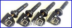 (4) New Oem 2010 Cadillac Cts Tpms Tire Pressure Sensors 13598772