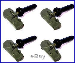 (4) New Oem 2008 Chevy Silverado 2500 Tpms Tire Pressure Sensors 13581558