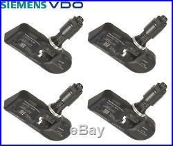 4-PCS Siemens VDO (TPMS) Tire Pressure Monitoring System Sensor 1K0907253D