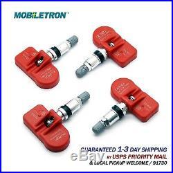 4-Pack 315MHz Pro-programmed TPMS Tire Pressure Sensor For Scion FR-S FRS iM