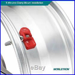 4-Pack 315MHz TPMS Tire Pressure Sensor 2010-2015 Chevy Camaro OE# 13281558