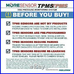 4-Pack 315MHz TPMS Tire Pressure Sensor Jaguar XJ XE XF X-TYPE F-TYPE S-TYPE