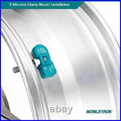 4-Pack Mobiletron Pre-programmed TPMS Tire Pressure Sensor 433MHz E70 F10 E90