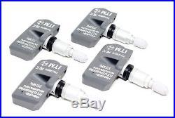 4 TPMS 2006-2018 Tire Pressure Sensors Lexus Pacific Replacement Aluminum Valve