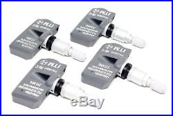 4 TPMS Tire Pressure Monitor Sensors 2004-2016 Chevrolet Suburban 1500