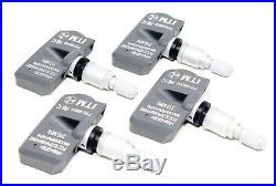 4 TPMS Tire Pressure Monitor Sensors 2008-2012 Honda Accord EX LX
