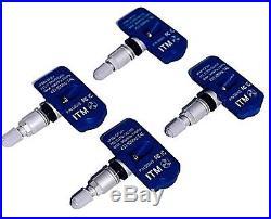 4 TPMS Tire Pressure Sensor 433mhz 2007-2019 BMW E90 E92 M3 M4 M5 F10 F82 F83
