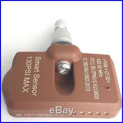 4 TPMS Tire Pressure Sensors 433MHz Metal Clamp-On fits BMW 5 Series 2002-2005