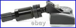 4 TPMS tire pressure sensors metal valve black for BMW F20 F21 F30 F31 F34 F36
