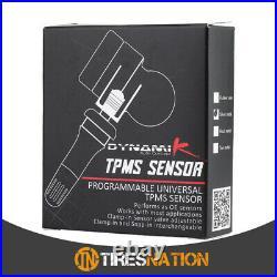 (4) Tire Air Pressure Sensor TPMS Metal Valve For Honda Accord 2014-17