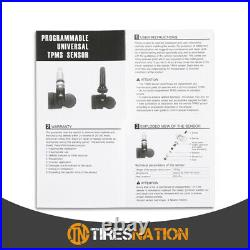 (4) Tire Air Pressure Sensor TPMS Rubber For Tesla Model Y Non Bluetooth 2020-21