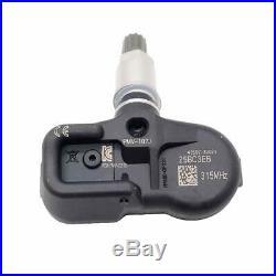 4 pcs Tire Air Pressure Sensor for Toyota 4Runner RAV4 Lexus CT200h GS300 2.5L