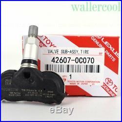 4PCS 42607-0C070 TPMS Transmitter Tire Air Pressure Monitor System Sensor NEW