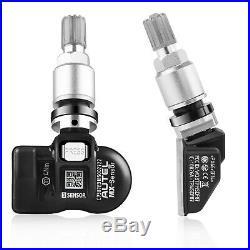 4PCS Autel MX-Sensor 315 & 433MHz 2 in 1 Programmbale TPMS Tire Pressure Sensor