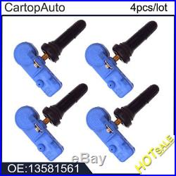 4PCS Tire Pressure Monitor For GMC Buick Cadillac Chevrolet TPMS Sensor 13581561