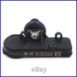 4PCS Tire Pressure Sensor TPMS For Citroen C4 Peugeot 307 308 9673860880 433MHz