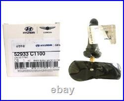 4Pcs Genuine Tire Pressure Monitor Systems 52933C1100 Tpms Sensor for Hyundai