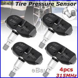 4Set TPMS Tire Pressure Sensor 315MHz For Acura MDX TL RL Odyssey #06421-S3V-A04