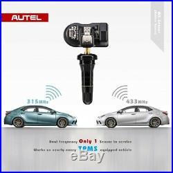 4TPMS Tire Tyre Pressure Monitoring Sensors Autel MX Sensor 2in1 433Mhz 315Mhz