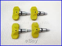 (4X)OEM 25774007 Tire Pressure Sensor For Chevrolet Trailblazer GMC Cadillac CTS