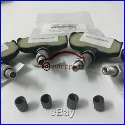 4X OEM TPMS Wheel Sensor Tyre Pressure Control System Audi Volkswagen 7PP907275F