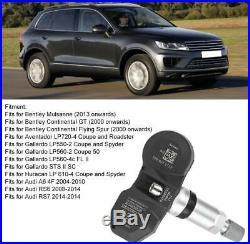 4pcs 7PP907275F 433MHZ TPMS Sensor Tire Pressure Monitor Fits Audi Volkswage