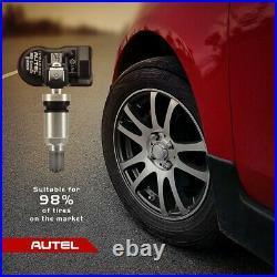 4pcs Autel MX-Sensor 315MHz Programmable TPMS Tire pressure Sensor Metal Stem