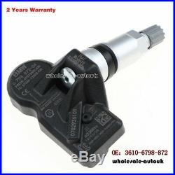 4pcs TPMS Tire Pressure Sensor FOR BMW F30 F31 F32 F10 F06 F12 F01 F02 X1 NEW