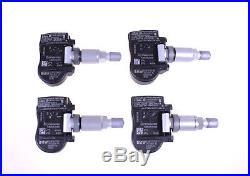 4x BMW 1 2 3 4 Series M3 X5 X6 Tire Pressure Sensor TPMS 36106855539 707355-10