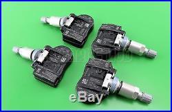 4x Citroen C4 C5 C6 C8 Aircross Tyre Pressure Sensors TPMS 433MHz 9659452180