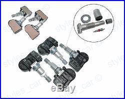 4x Citroen C4 C5 C6 C8 Tyre Pressure Sensors TPMS 433MHz 9659452180
