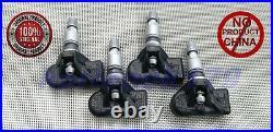 4x Genuine BMW TPMS RDKS Tire pressure 36106798872, 36106874830, 36106890964