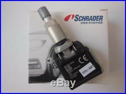 4x Genuine SCHRADER For BMW G30/G31/G11/G12/G01 RDCi TPMS Tire pressure sensor
