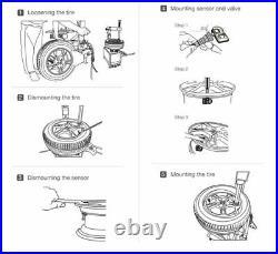 4x Sensor Kits REDI-Sensor Variant 1HP 315MHz TPMS VDO Tire Pressure SE10001HP
